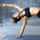 Yoga poses: 4 simple moves to de-stress