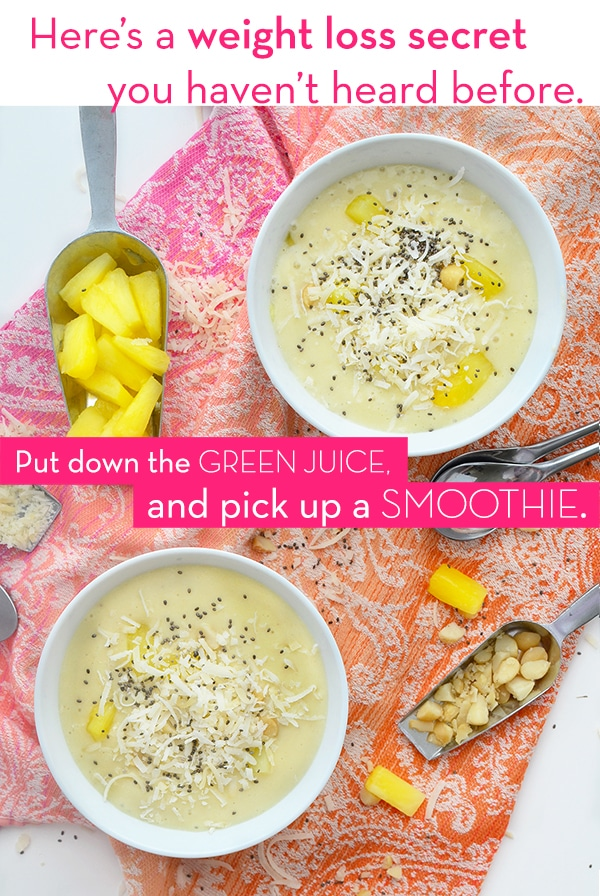 Skip the Green Juice - Smoothies for weight loss - The Wellnest by HUM Nutrition