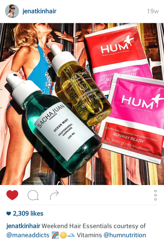 Jen Atkin shares HUM's Runway Ready nutrients from food for hair health - The Wellnest by HUM Nutrition