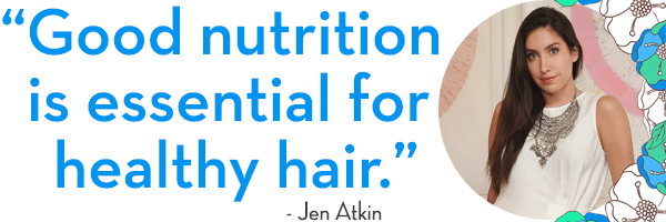 Jen Atkin - Food for Healthy Hair - The Wellnest by HUM Nutrition
