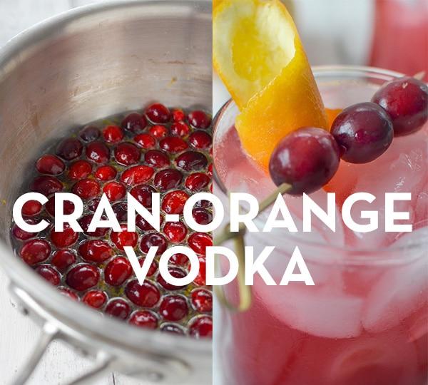 Healthy holiday cocktail recipe - Cran-Orange Vodka - The Wellnest by HUM Nutrition
