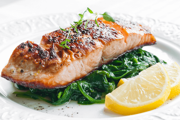 Salmon for skin-nourishing omegas - The Wellnest by HUM Nutrition