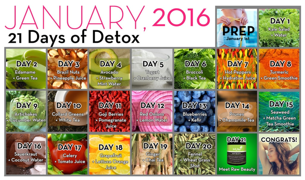 21 Day Detox - The Wellnest by HUM Nutrition