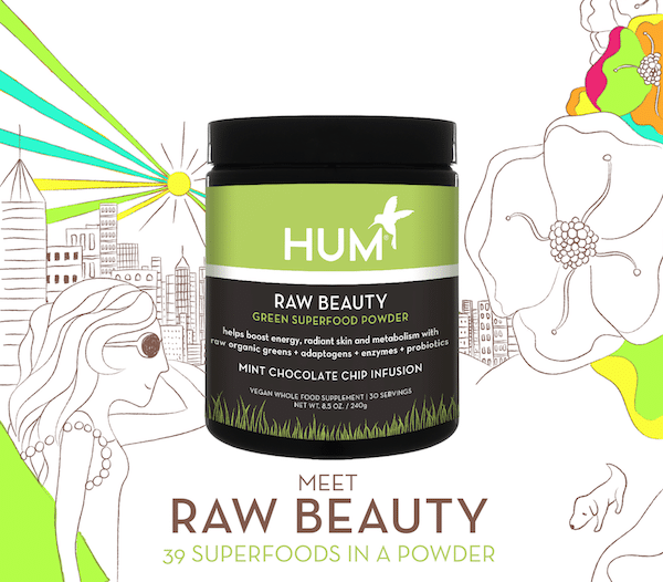 HUM Raw Beauty Green Superfood Powder - The Wellnest by HUM Nutrition