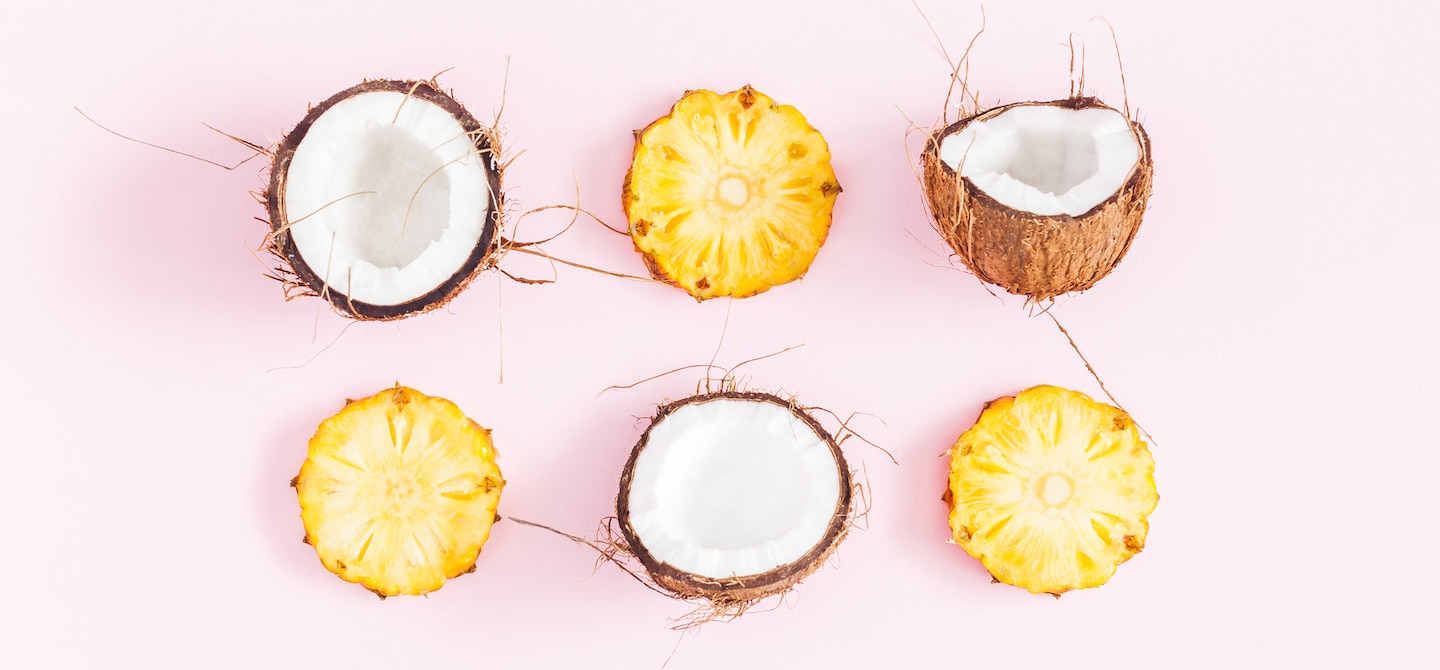 Raw Beauty Coconut Pineapple Tropical Infusion - The Wellnest by HUM Nutrition