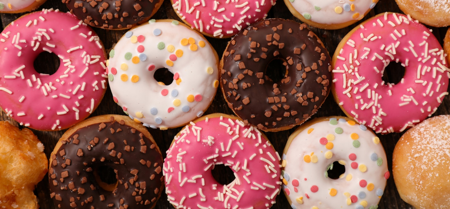Healthy Donuts - The Wellnest by HUM Nutrition