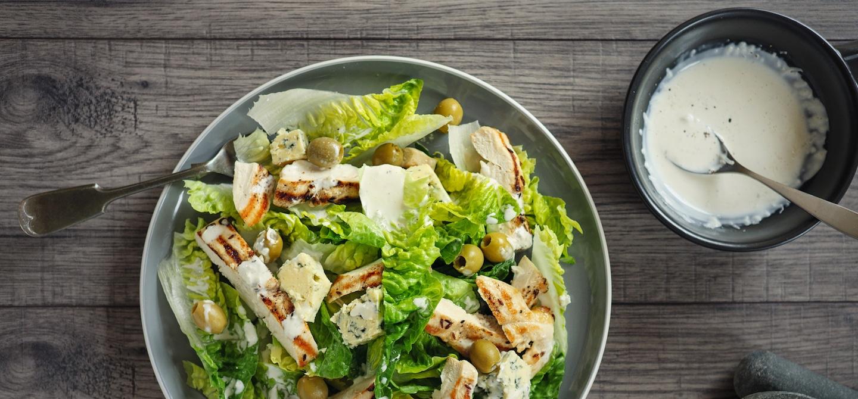 Healthy Caesar Dressing Recipe - The Wellnest by HUM Nutrition