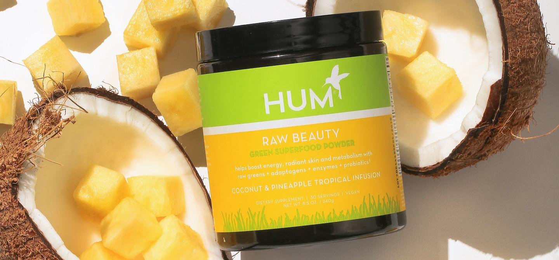 Raw Beauty Tropical Three Ways | The Wellnest by HUM Nutrition