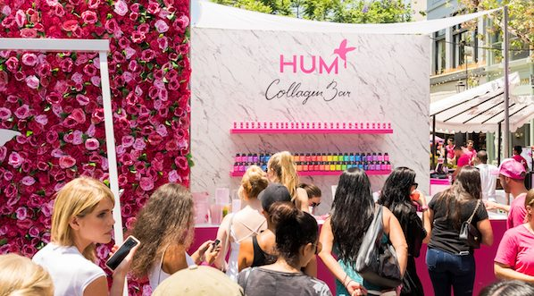 HUM Collagen Bar at HUM Together 2018 at The Grove