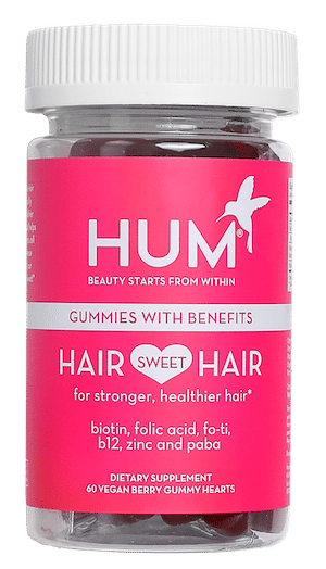 Hair Sweet Hair gummy vitamins by HUM Nutrition