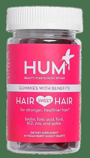 Hair Sweet Hair gummy vitamins by HUM Nutrition