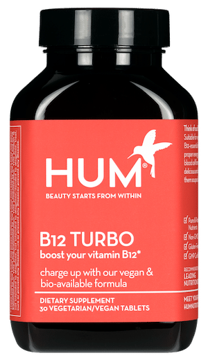 HUM Nutrition B12 Turbo Supplement