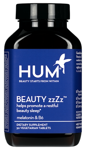 HUM Nutrition Beauty zzZz Melatonin Supplement