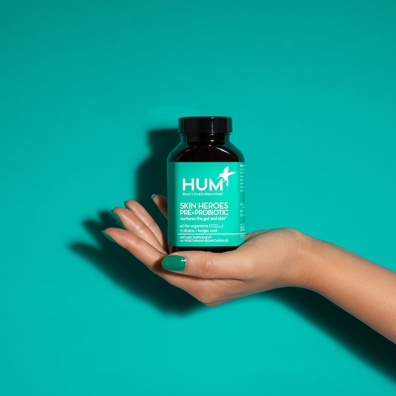 Best Probiotic For Skin Feature | The Wellnest by HUM Nutrition