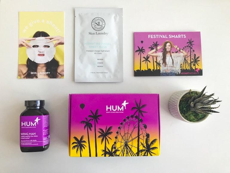 Festival April Box - The Wellnest by HUM Nutrition