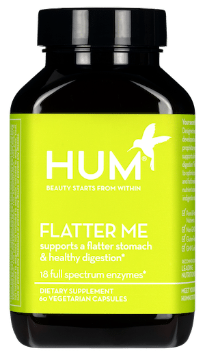 HUM Nutrition Flatter Me digestive enzymes