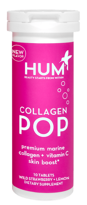 HUM Nutrition Colalgen POP Strawberry Lemon