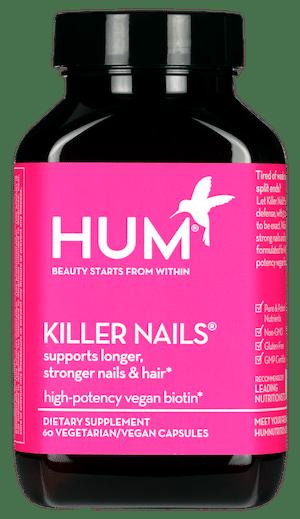 HUM Nutrition Killer Nails Biotin Supplement