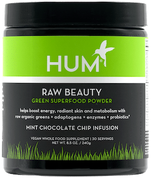 HUM Nutrition Raw Beauty Mint Chocolate Chip