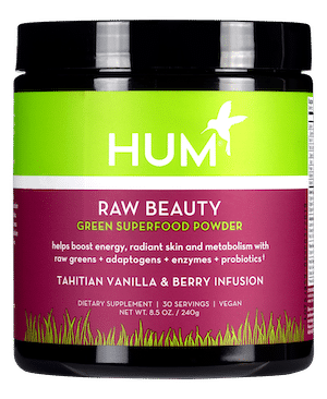 HUM Nutrition Raw Beauty Vanilla Berry
