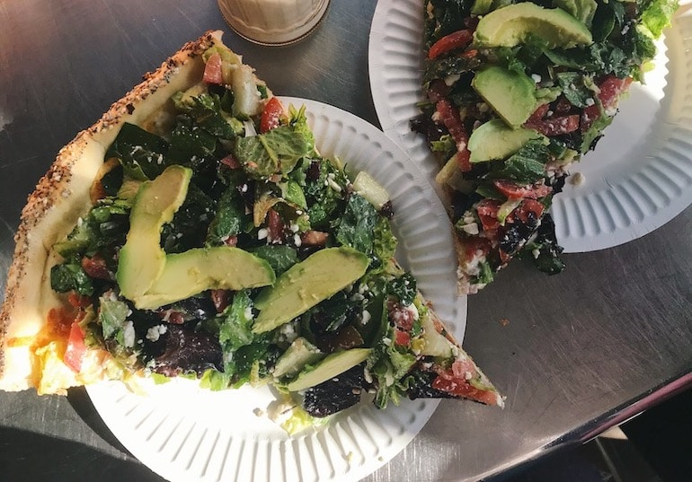 Salad Pizza | The Wellnest by HUM