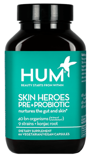 Skin Heroes Button | The Wellnest by HUM Nutrition
