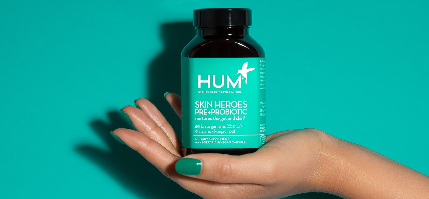 Best Probiotic For Skin | The Wellnest by HUM Nutrition