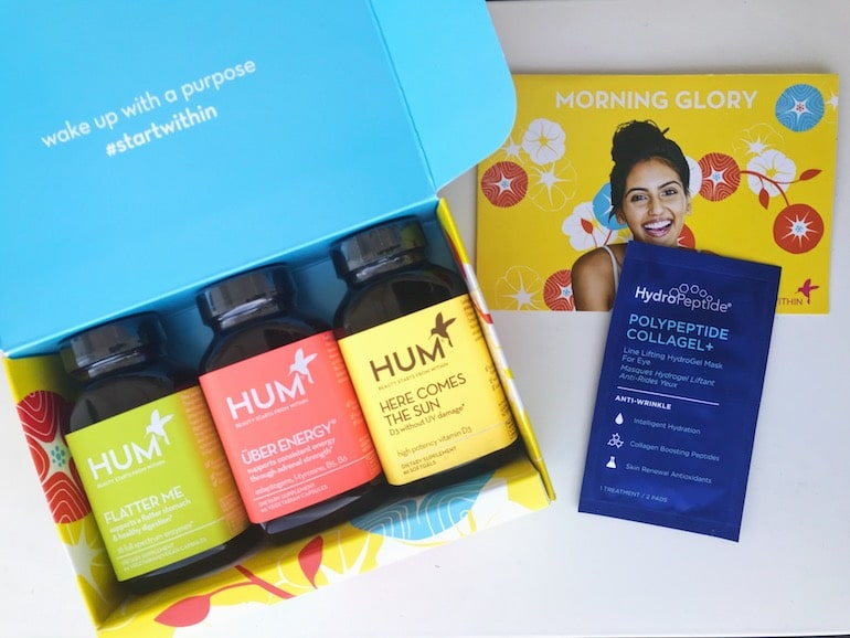 HUM Nutrition HydroPeptide Beauty Sample | The Wellnest by HUM Nutrition
