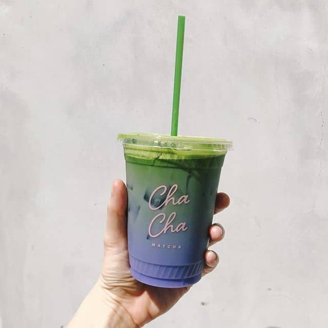 Taking CBD Matcha Latte Cha Cha Matcha | The Wellnest by HUM Nutrition