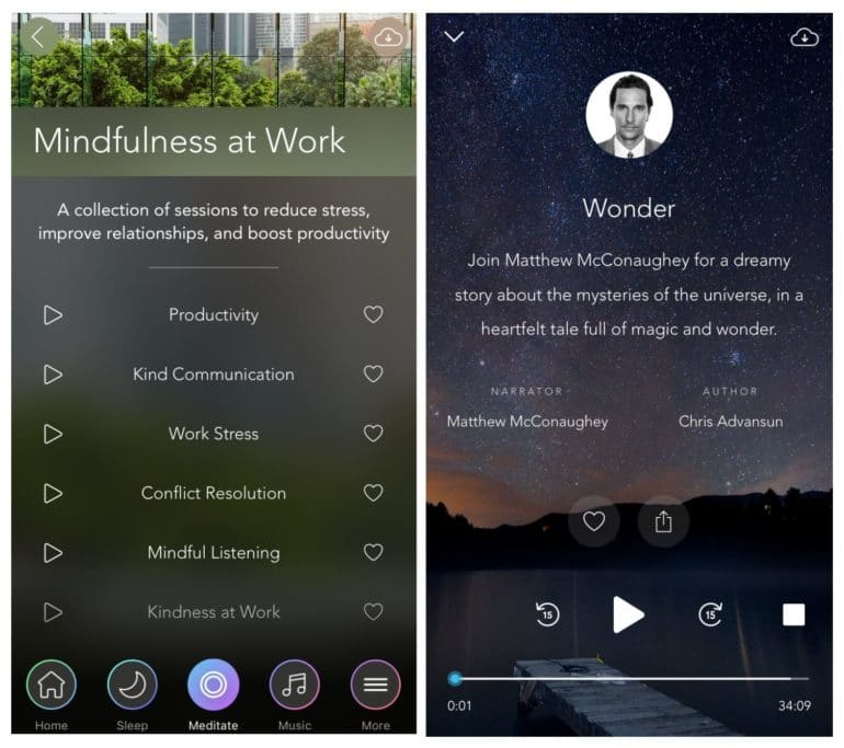 Calm Review | Best Meditation Apps | The Wellnest by HUM Nutrition