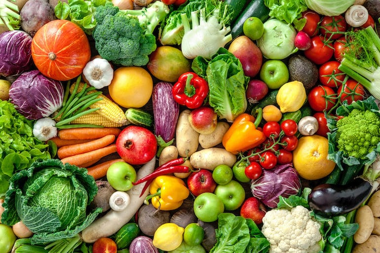 Fruits and Veggies - Satiating Diet - The Wellnest by HUM Nutrition