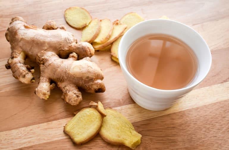 Ginger Tea - Tea Benefits - The Wellnest by HUM Nutrition