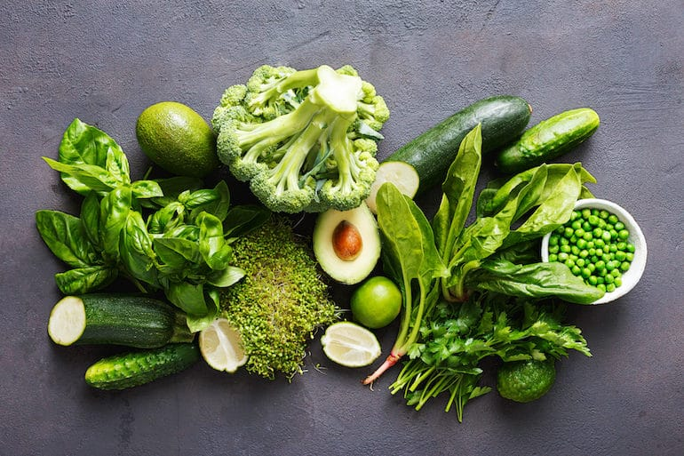 Green Fruits and Vegetables - The Wellnest by HUM Nutrition