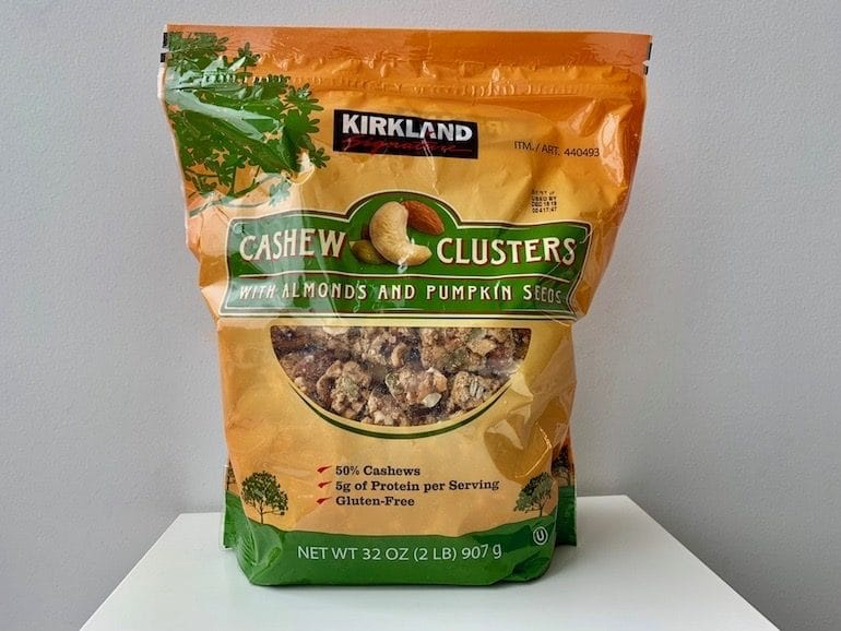 Kirkland Cashew Clusters - The Wellnest by HUM Nutrition