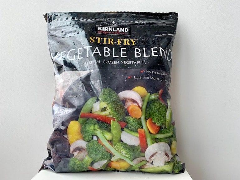 Kirkland Vegetable Stir Fry - Costco - The Wellnest by HUM Nutrition