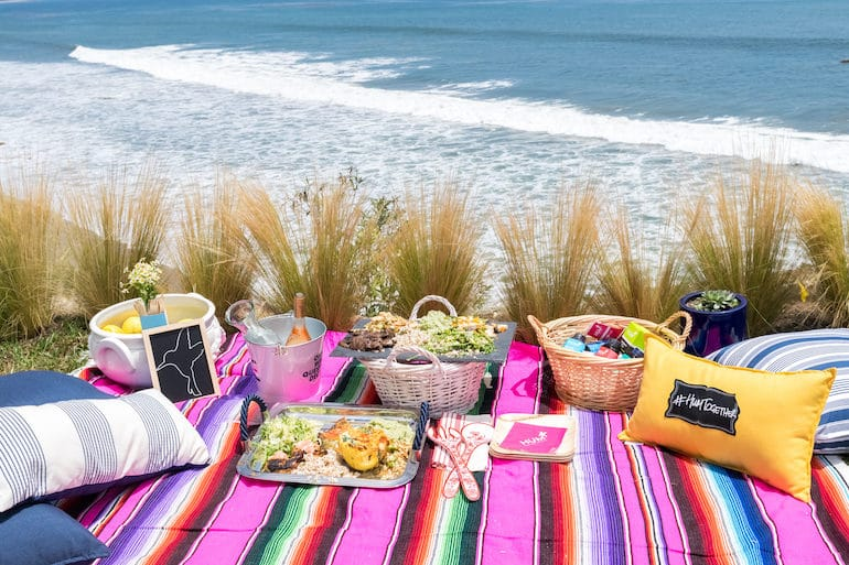 Malibu Picnic - Collaboration - The Wellnest by HUM Nutrition