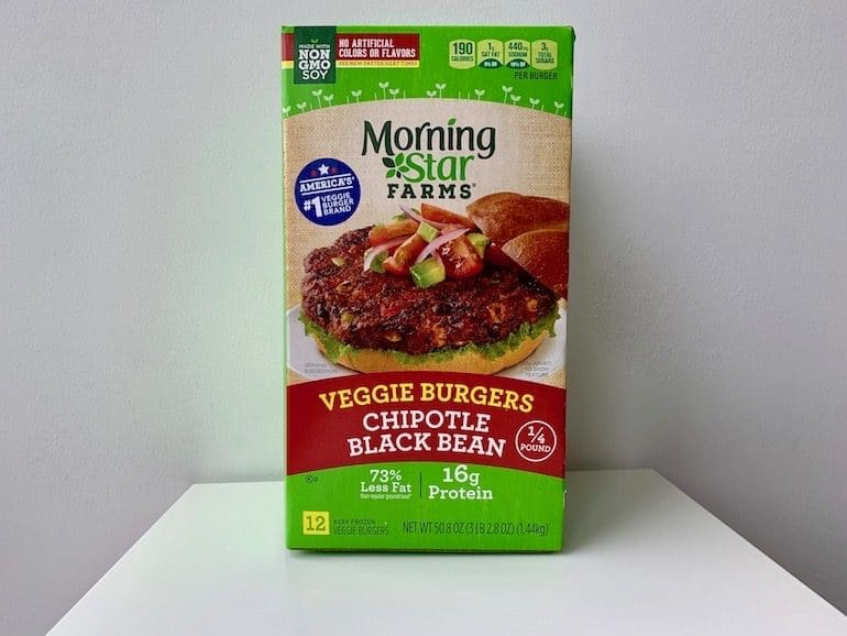 Morning Farms Chipotle Black Bean Burger - The Wellnest by HUM Nutrition