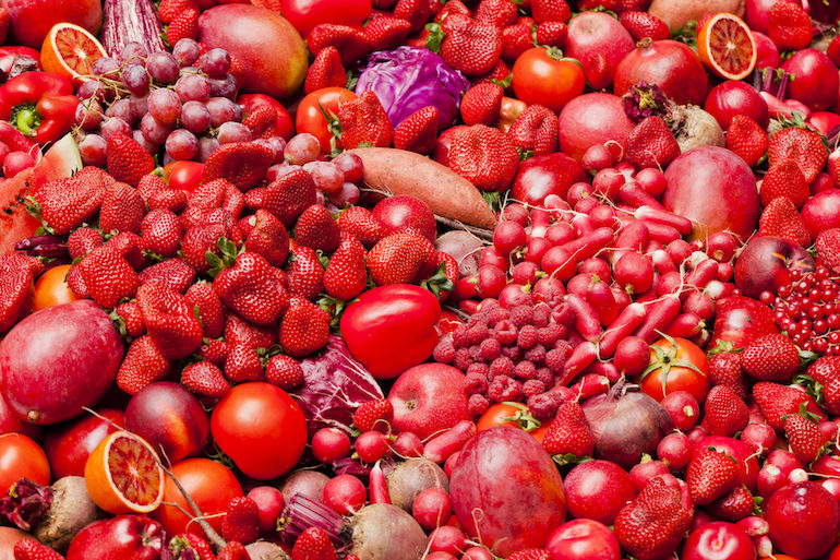Red Fruits and Vegetables - The Wellnest by HUM Nutrition