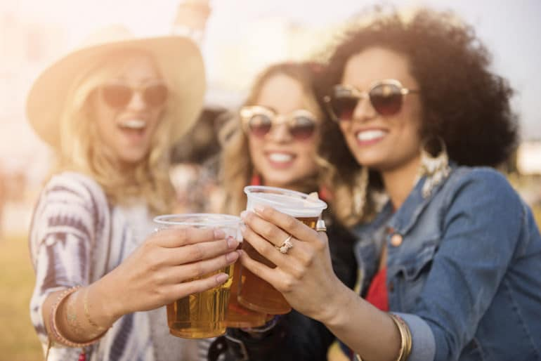 Girls Drinking - Long-Term Effects of Alcohol - The Wellnest by HUM Nutrition