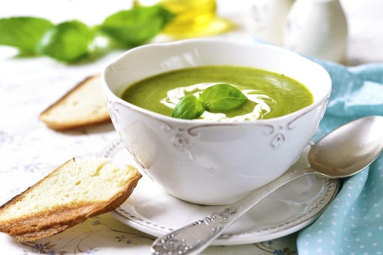 Green Grape + Avocado Gazpacho Recipe