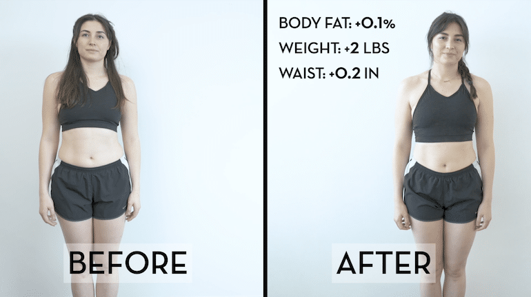 Zena BBG Before & After Image | The Wellnest by HUM Nutrition