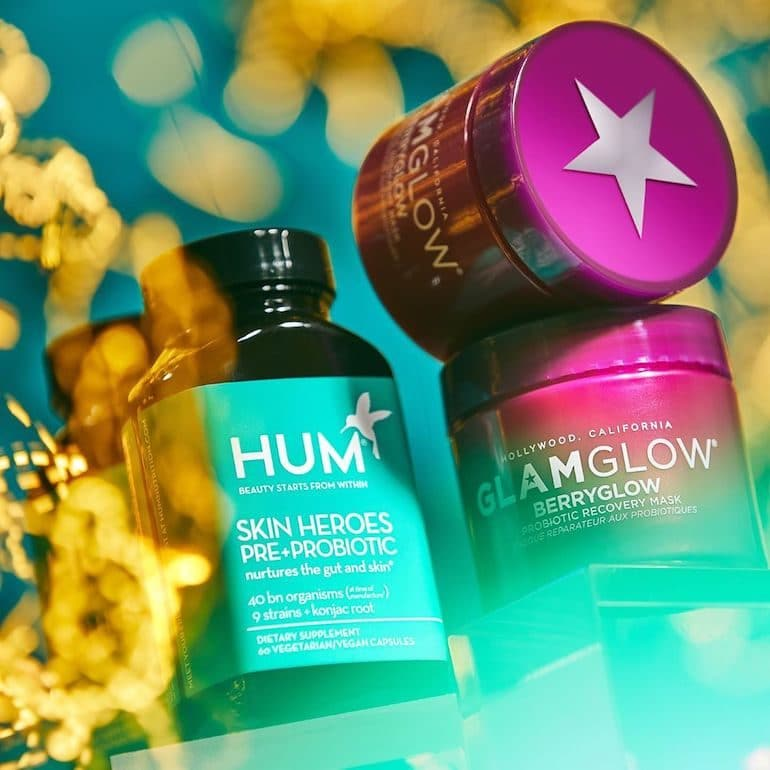 GLAMGLOW BERRYGLOW Mask and Skin Heroes Bottle | The Wellnest by HUM Nutrition