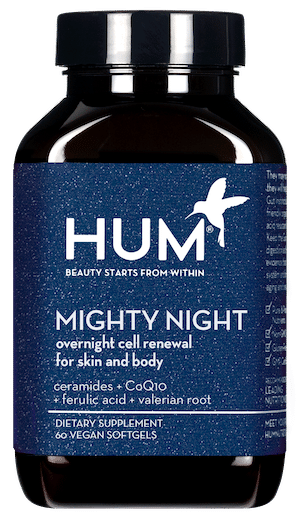 HUM Nutrition Mighty Night Bottle
