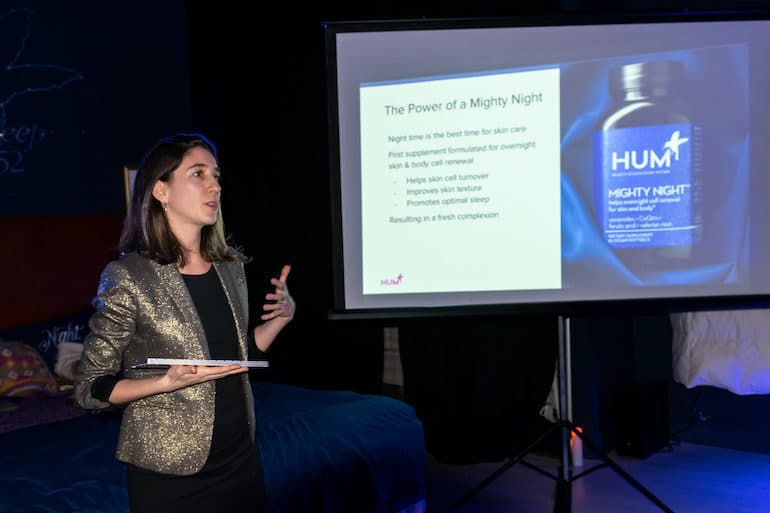 HUM Director of Education Sarah Greenfield, RD, discusses Mighty Night