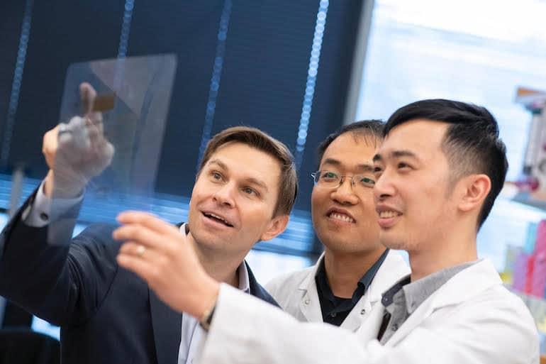 Dr. David Sinclair at Harvard Medical School's Longevity Lab