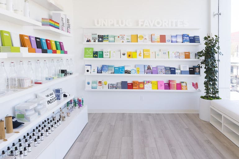 Unplug Meditation studio in West Hollywood - retail space