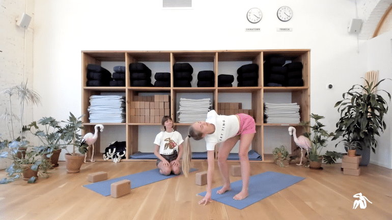 Sky Ting Livestream Online Yoga Class