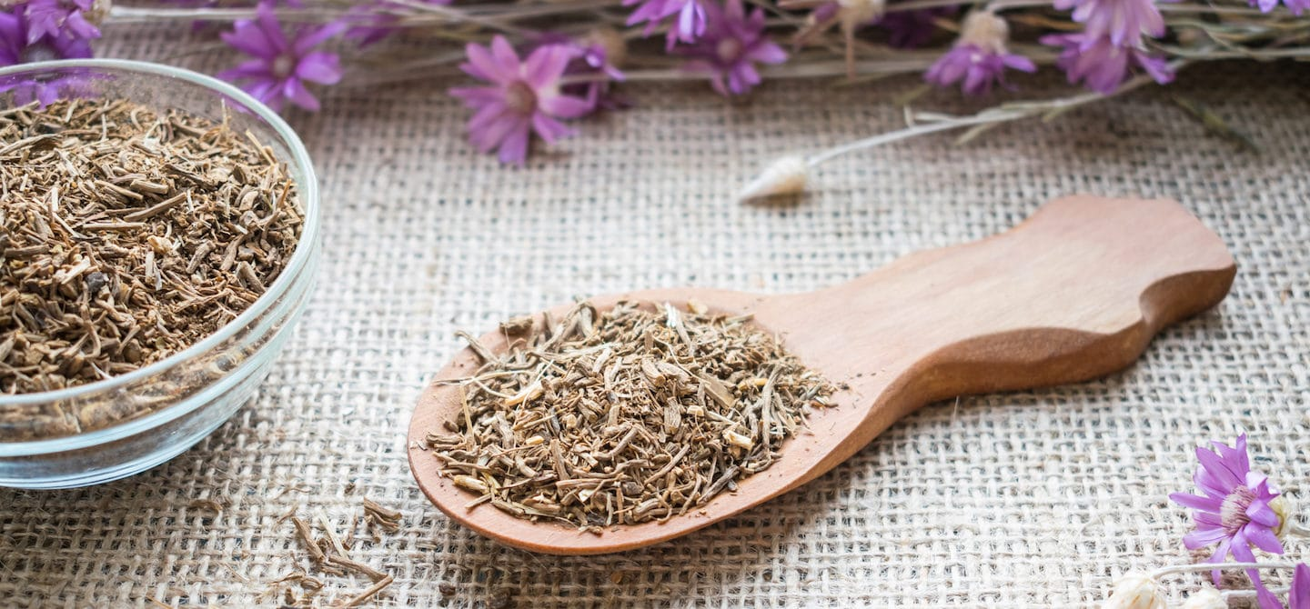 Dried valerian root for sleep, a natural herbal remedy for insomnia and stress