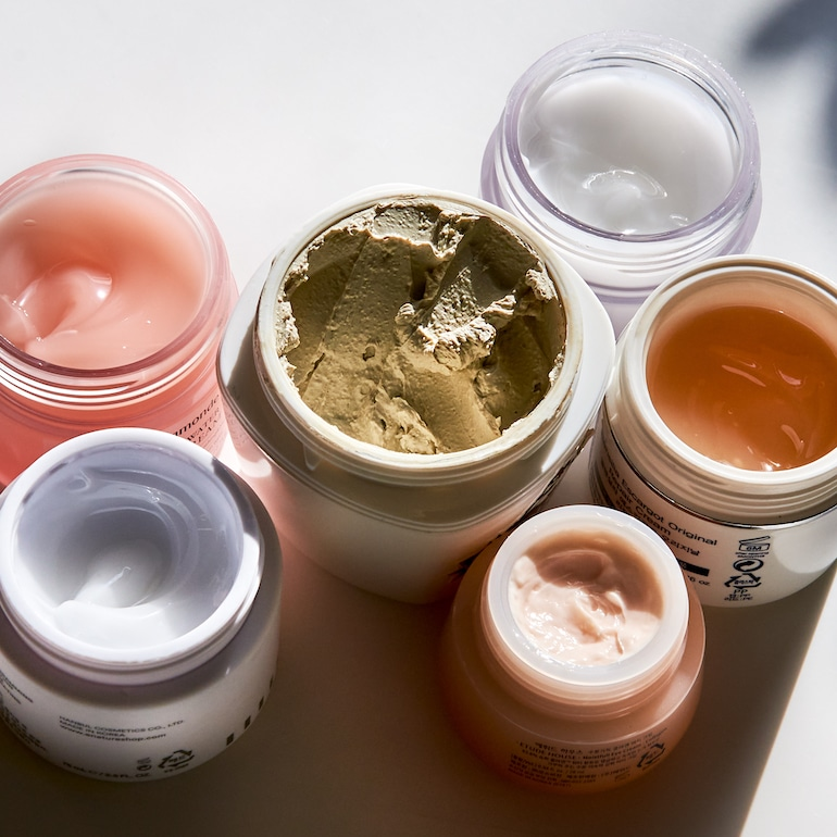 Best K-beauty products in colorful jars