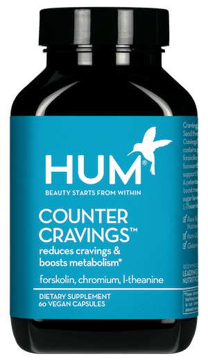 HUM Nutrition Counter Cravings supplement to reduce cravings and boost metabolism
